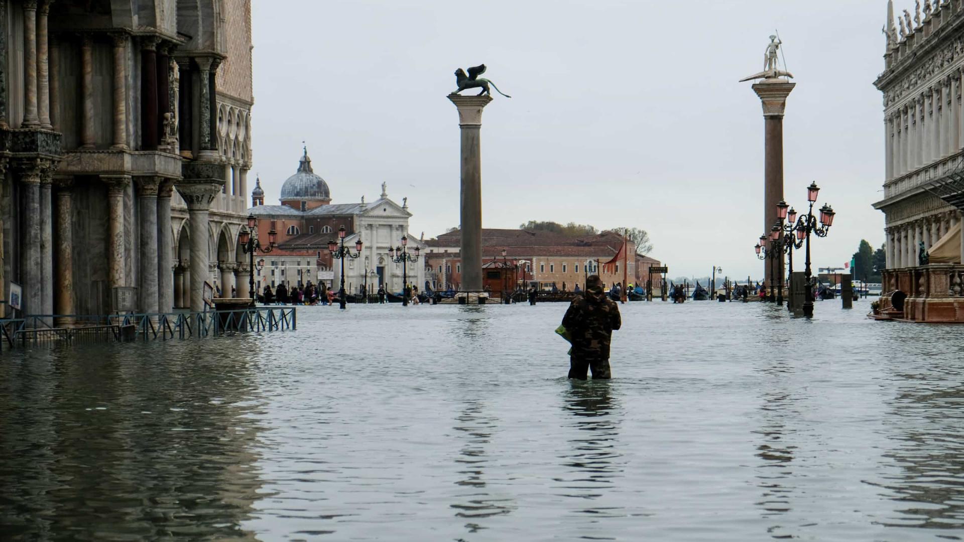 Veneza tem a maior maré dos últimos 50 anos