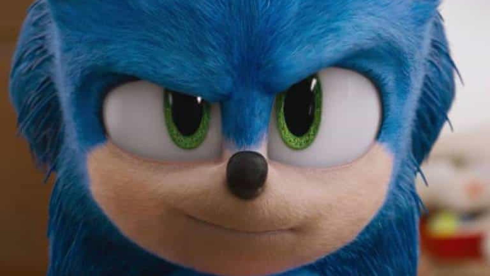 Sonic ganha aspecto mais fofo em live action e recebe aprovação dos fãs