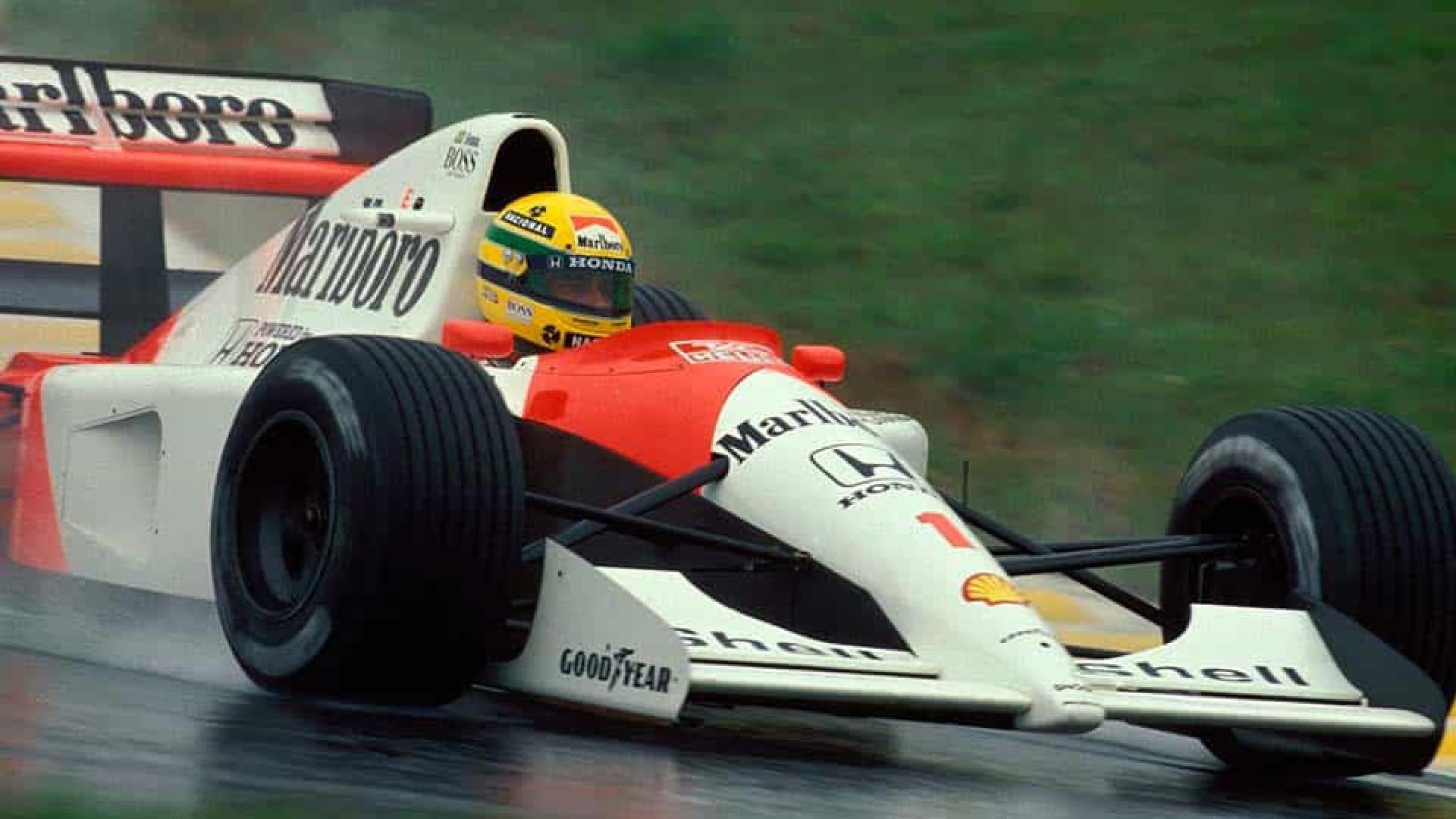 Bruno Senna se diz ansioso para dirigir McLaren de Ayrton