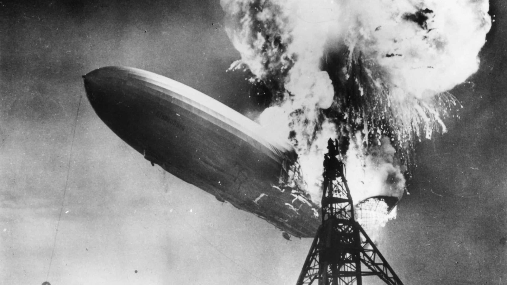 Morreu o último sobrevivente do desastre do Hindenburg