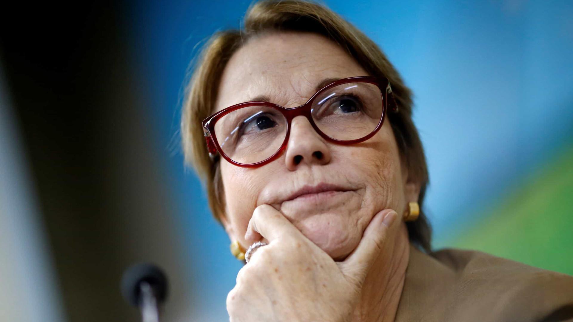 Tereza Cristina diz ver potencial para crescimento no comércio com países árabes