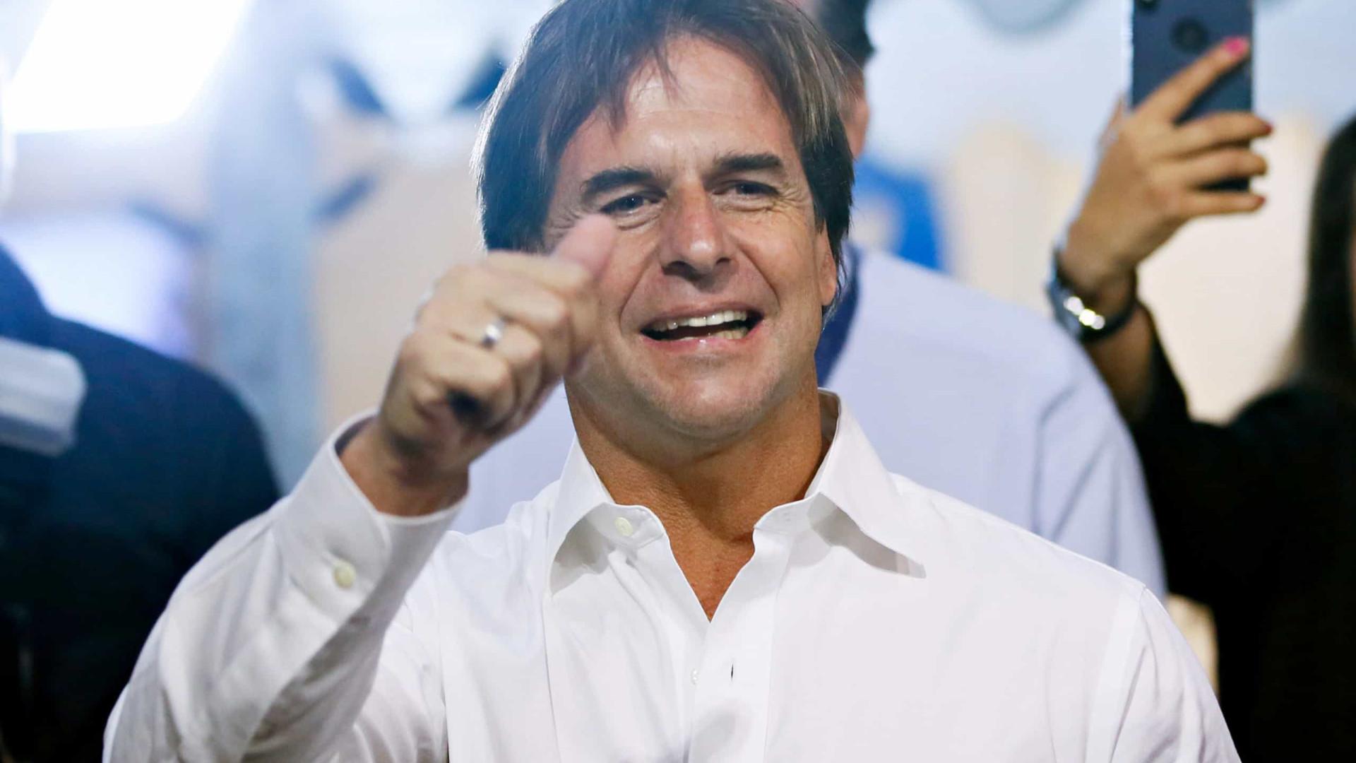 Luis Lacalle Pou será o novo presidente do Uruguai