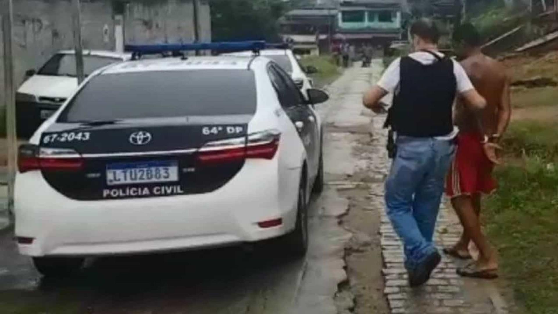 Homem acusado de abusar da filha de 14 anos é preso no Rio