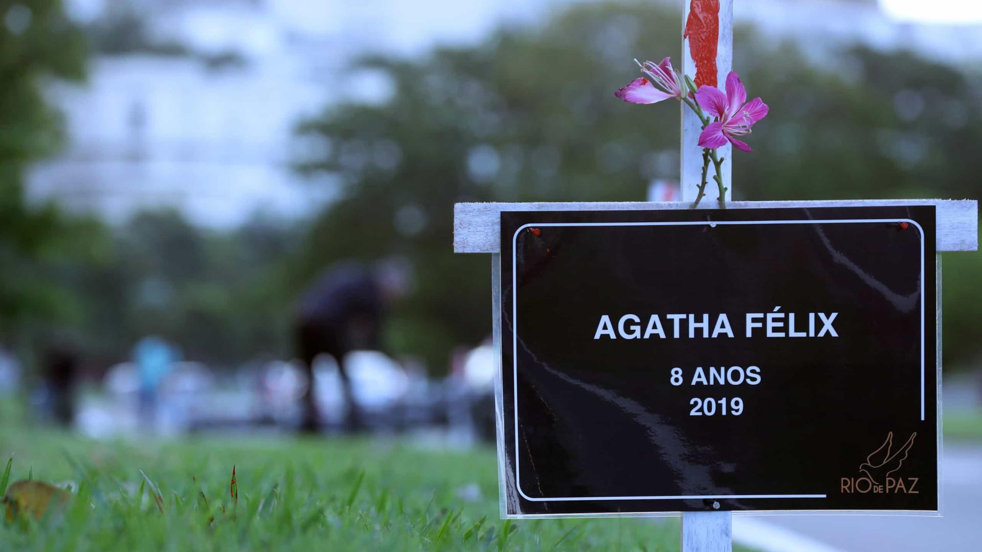 Promotoria do Rio denuncia PM pela morte da menina Ágatha