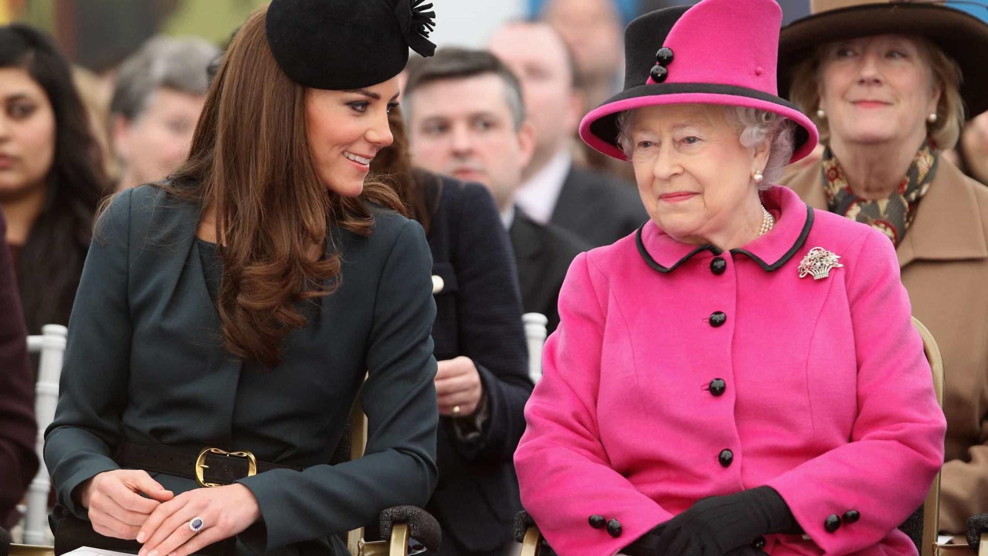 Kate Middleton assume função que era exercida pela rainha há 65 anos