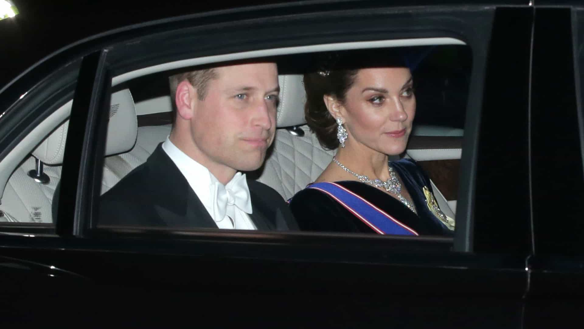 Kate Middleton brilha com tiara que pertencia à princesa Diana