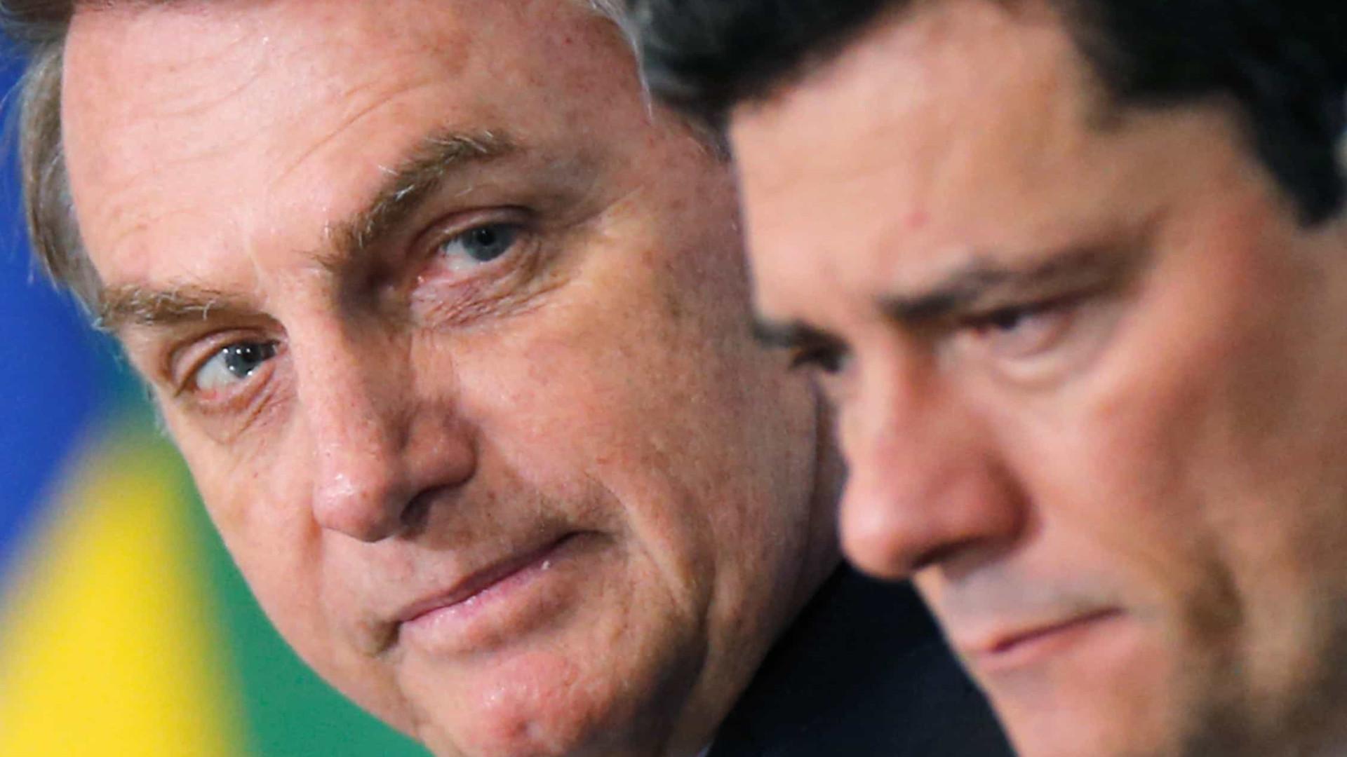 Bolsonaro diz que é difícil a implementação do juiz de garantias