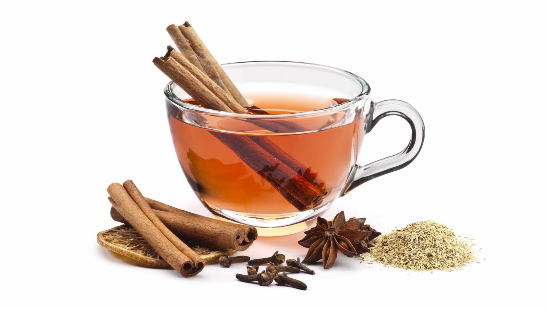 Sete benefícios de beber chá de canela todos os dias