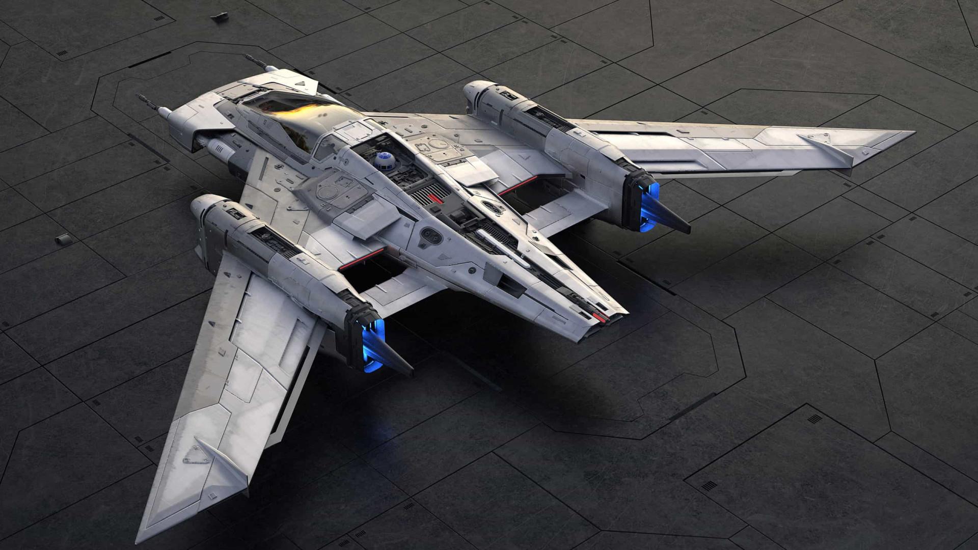 Porsche inspira-se em 'Star Wars' para criar nave de combate