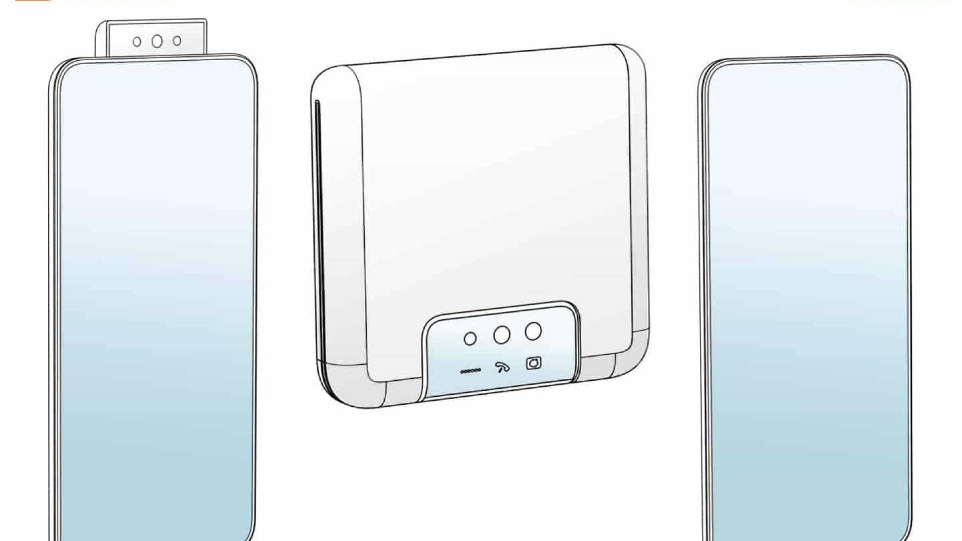Nova patente da Xiaomi aponta para smartphone dobrável
