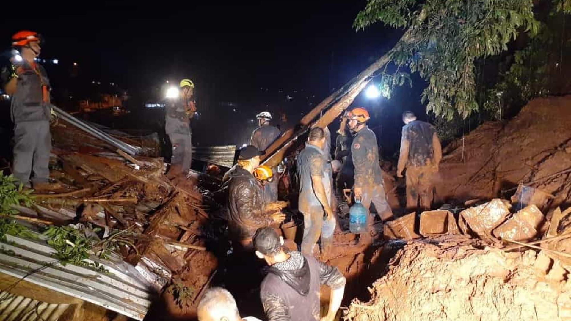 Sobe para quatro o número de mortos em deslizamentos em SP