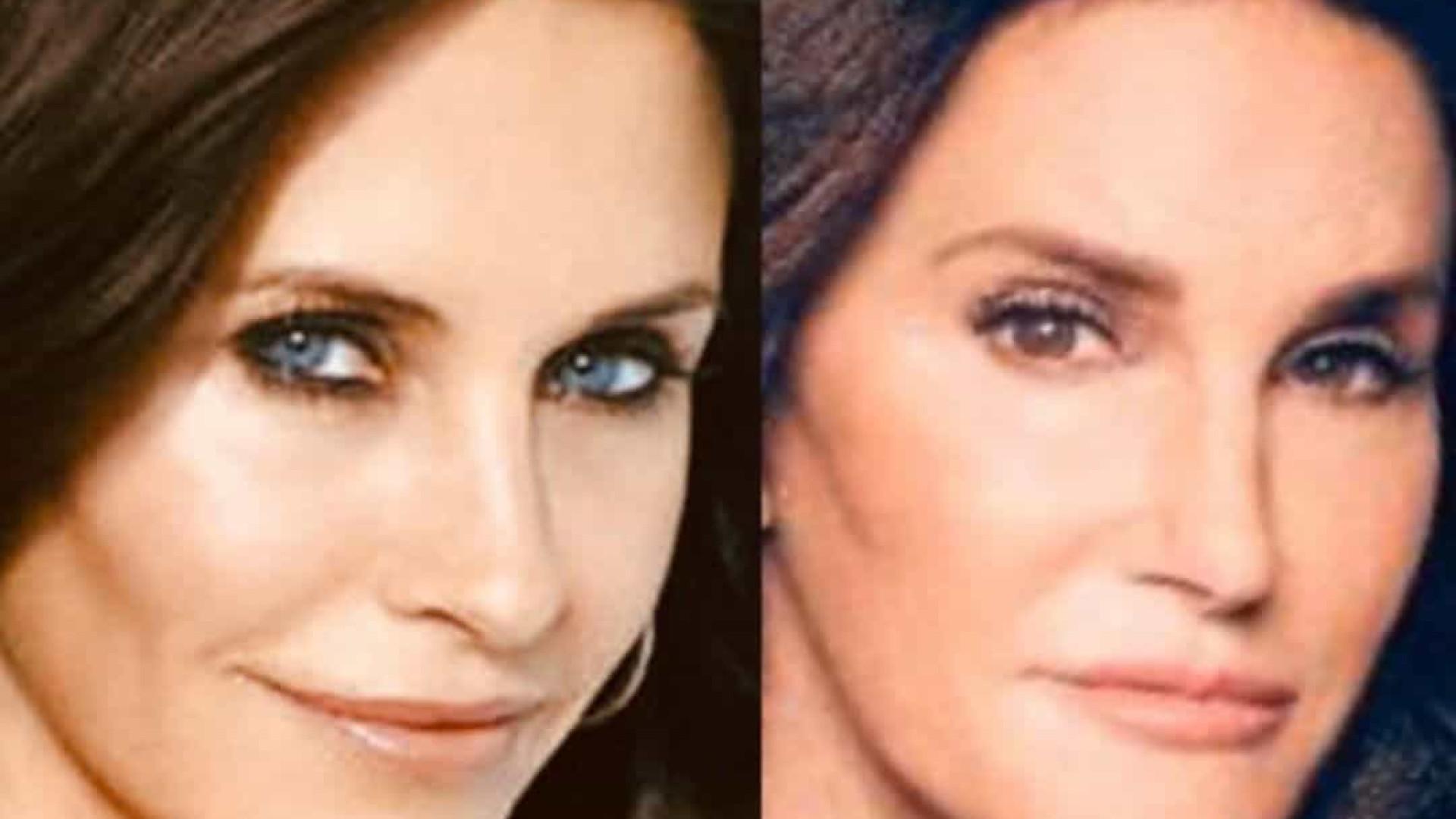 Atriz de 'Friends' reage a comparações com Caitlyn Jenner