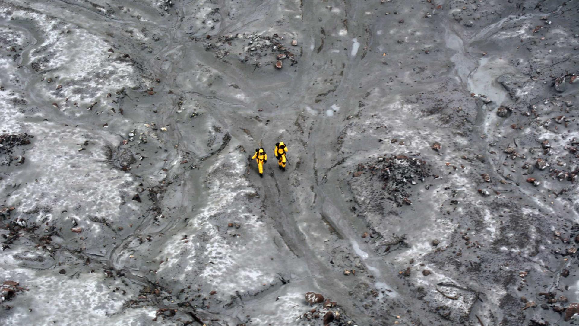 Nova Zelândia. 75 minutos de buscas sem sucesso em águas contaminadas
