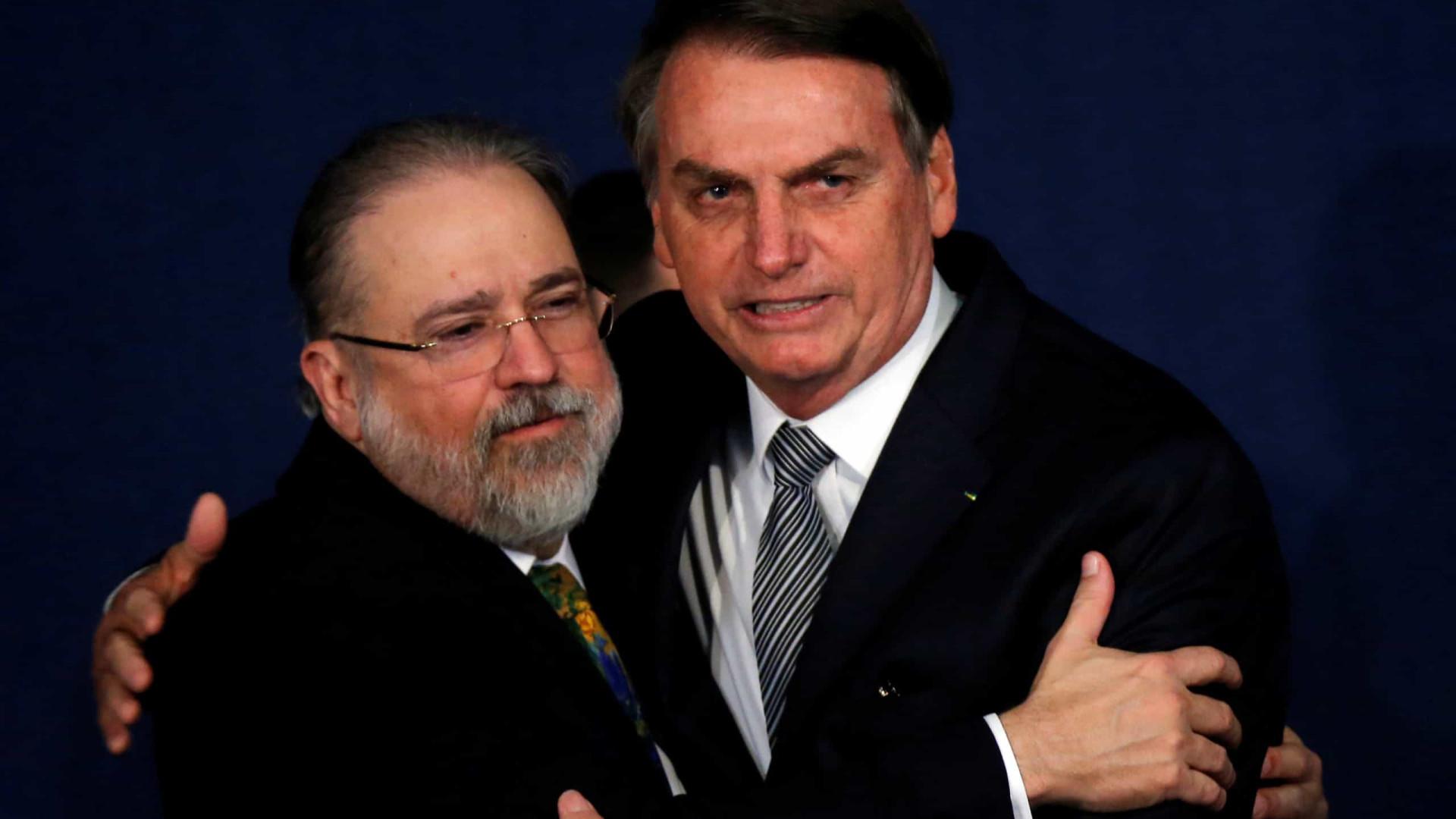 Visita de Bolsonaro a Aras é vista no STF como novo ato de pressão