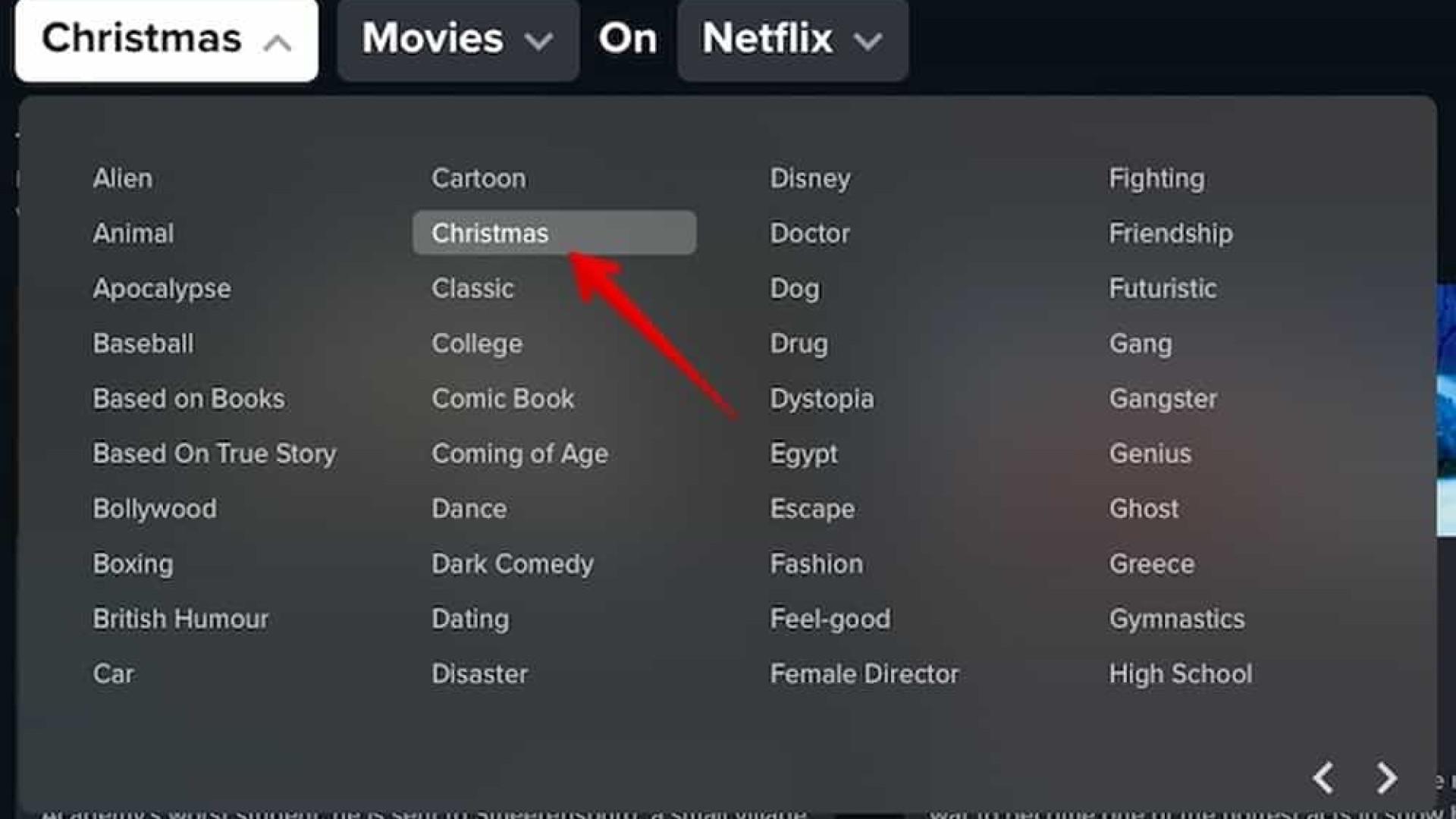 Ferramenta ajuda a encontrar filmes e séries temáticas na Netflix