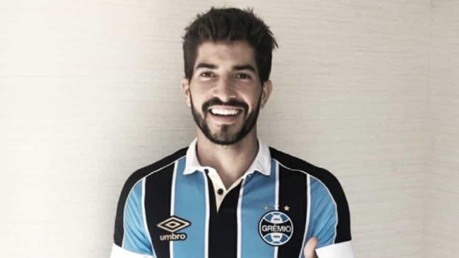 Grêmio ganha disputa com China, Japão e México para ter Lucas Silva