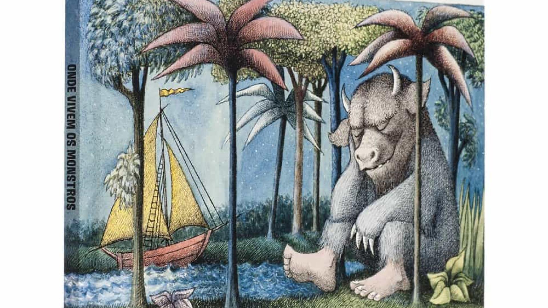 'Onde Vivem os Monstros', clássico infantil, some das prateleiras