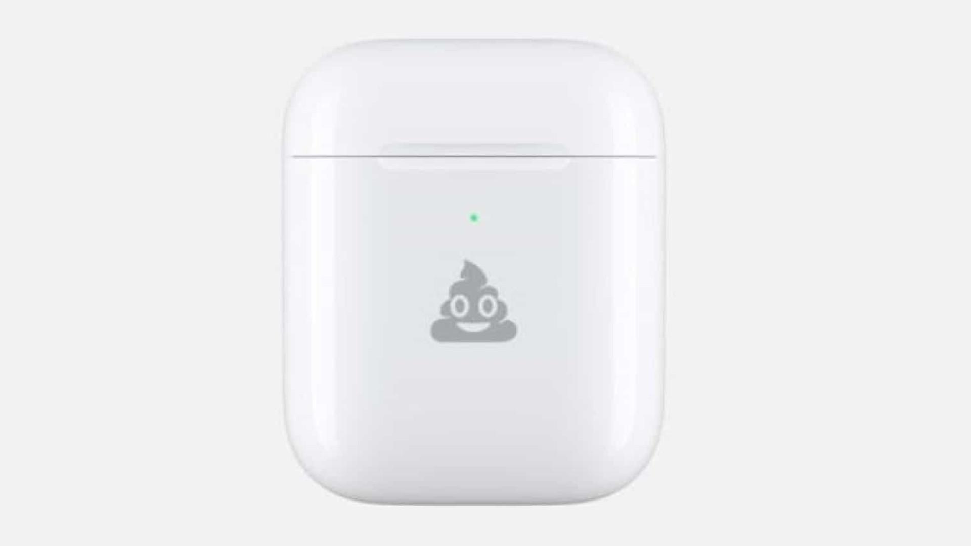 A Apple vai passar a personalizar AirPods com emojis (e sem custo)