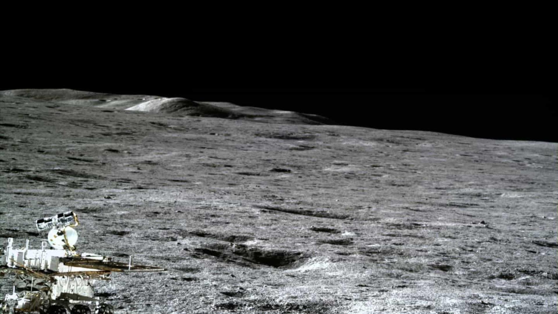 China compartilha fotografias do lado oculto da Lua