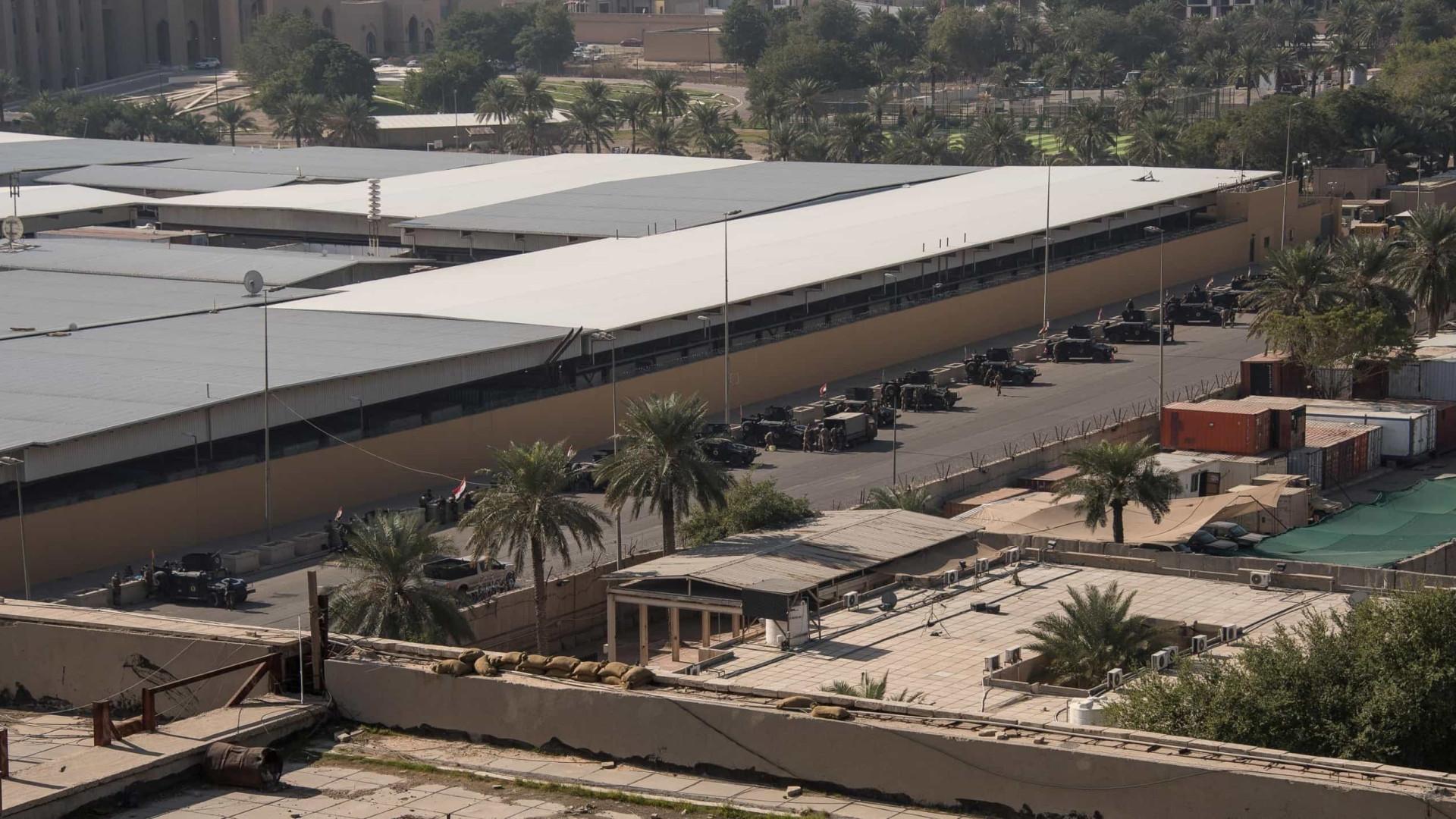 Dois foguetes atingem região onde fica embaixada dos EUA no Iraque