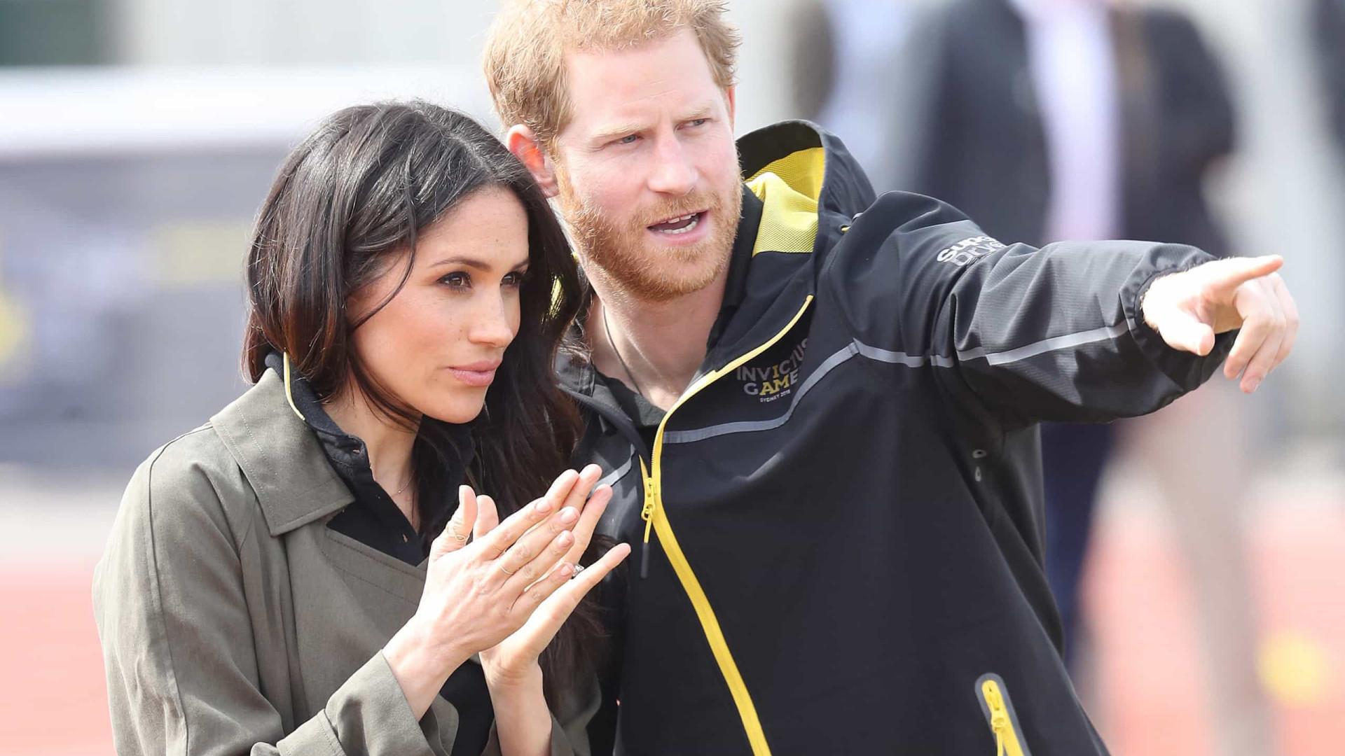 Harry e Meghan orgulhosos da sua decisão em afastarem-se da realeza