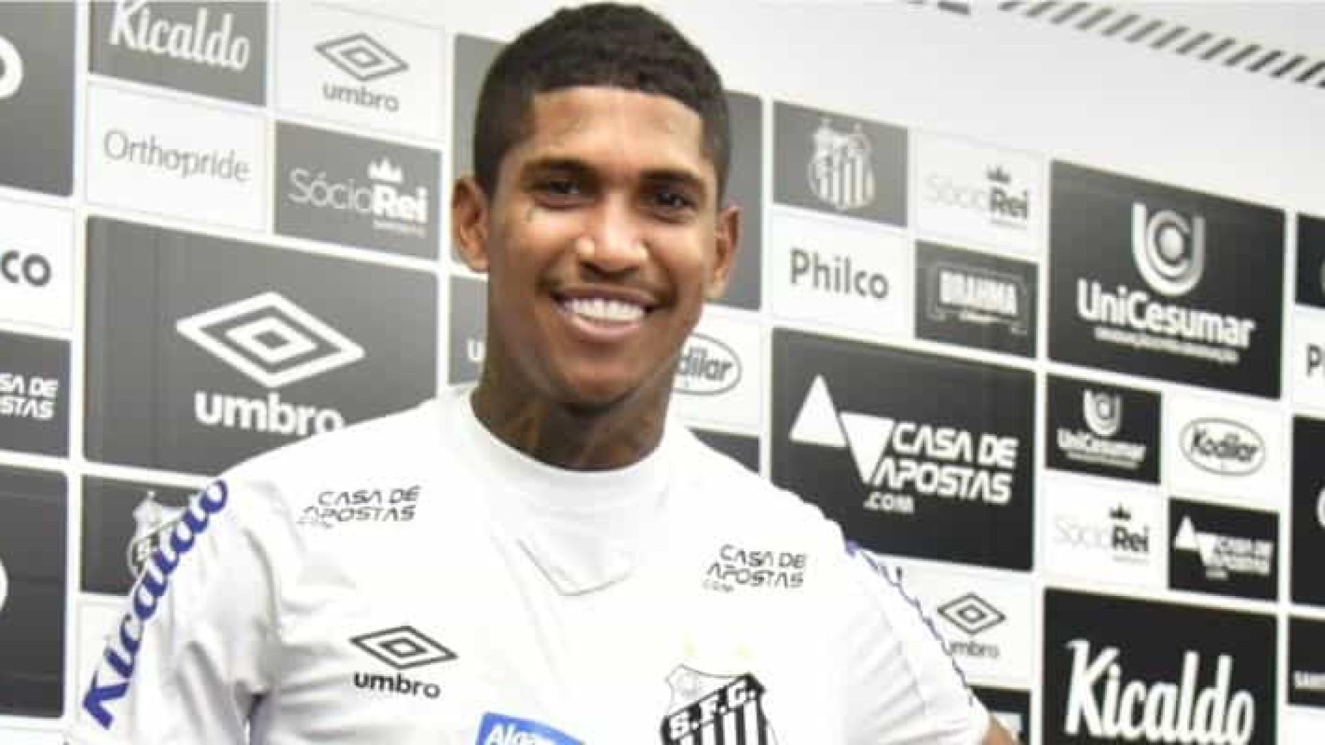 Com dois gols, Raniel dá a vitória ao Santos
