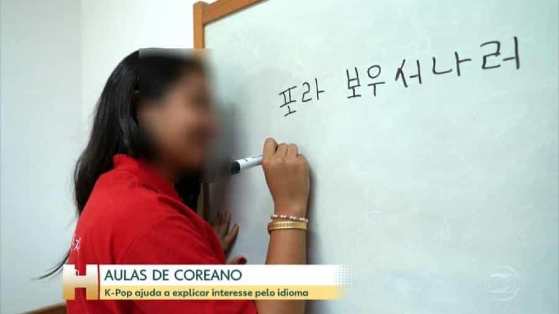 Protesto em coreano contra Bolsonaro na Globo viraliza