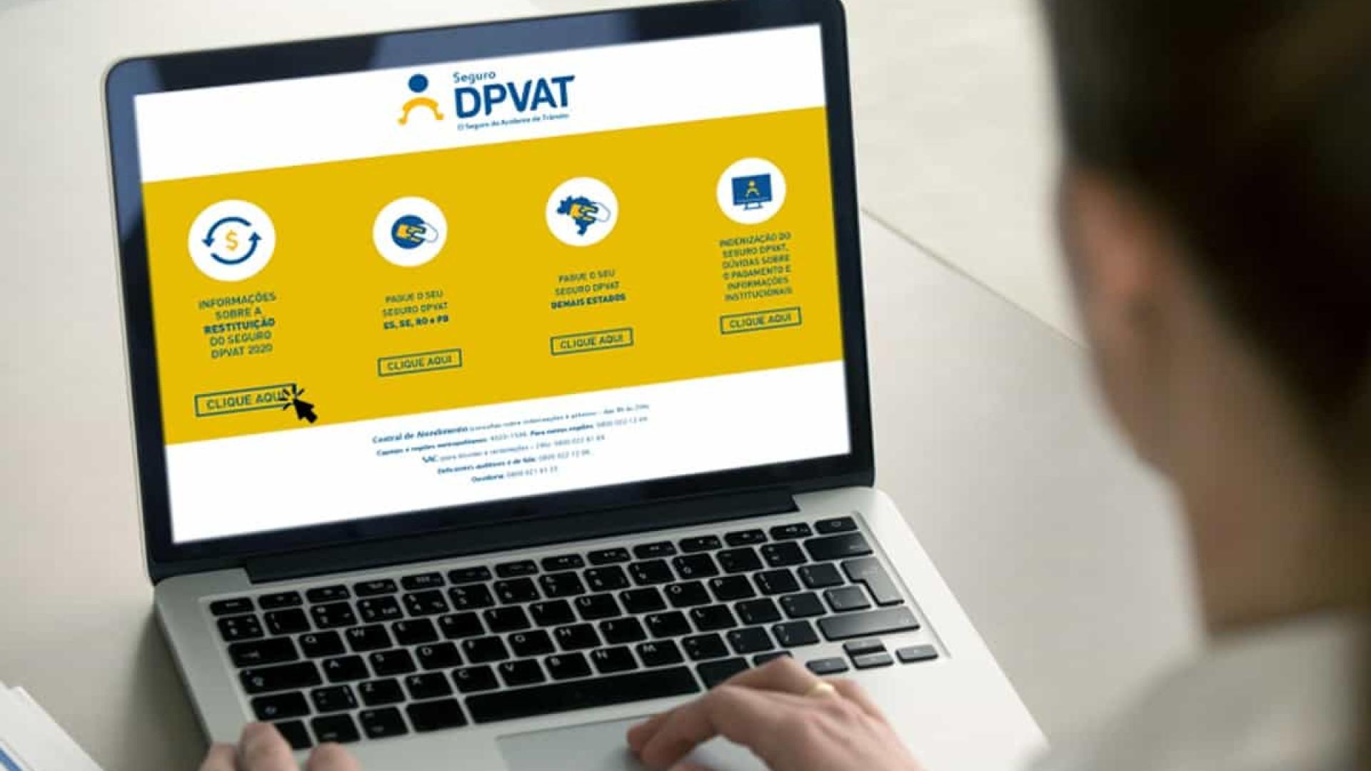 Site para pedir devolução do DPVAT tem lentidão e instabilidade