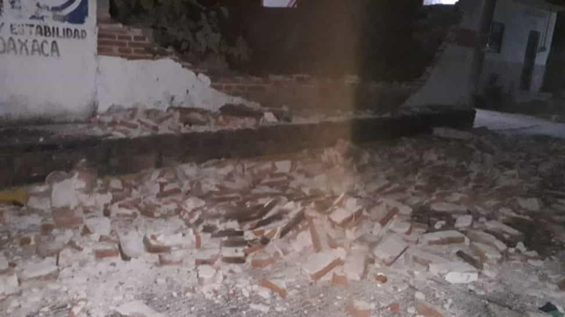 Terremoto de 5.3 na escala de Richter provoca estragos no México