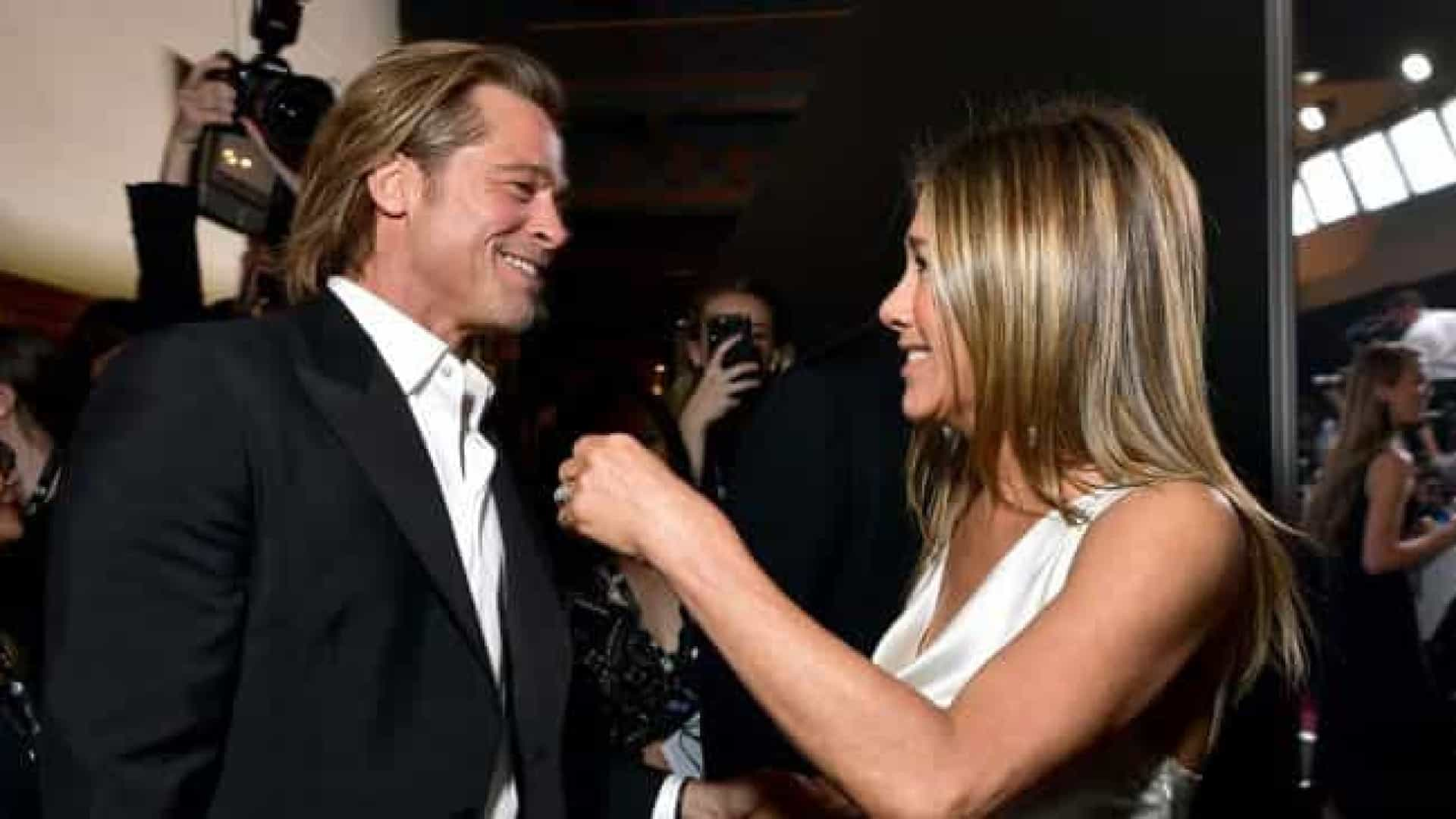 Reencontro de Aniston e Pitt no SAG Awards gera controvérsias