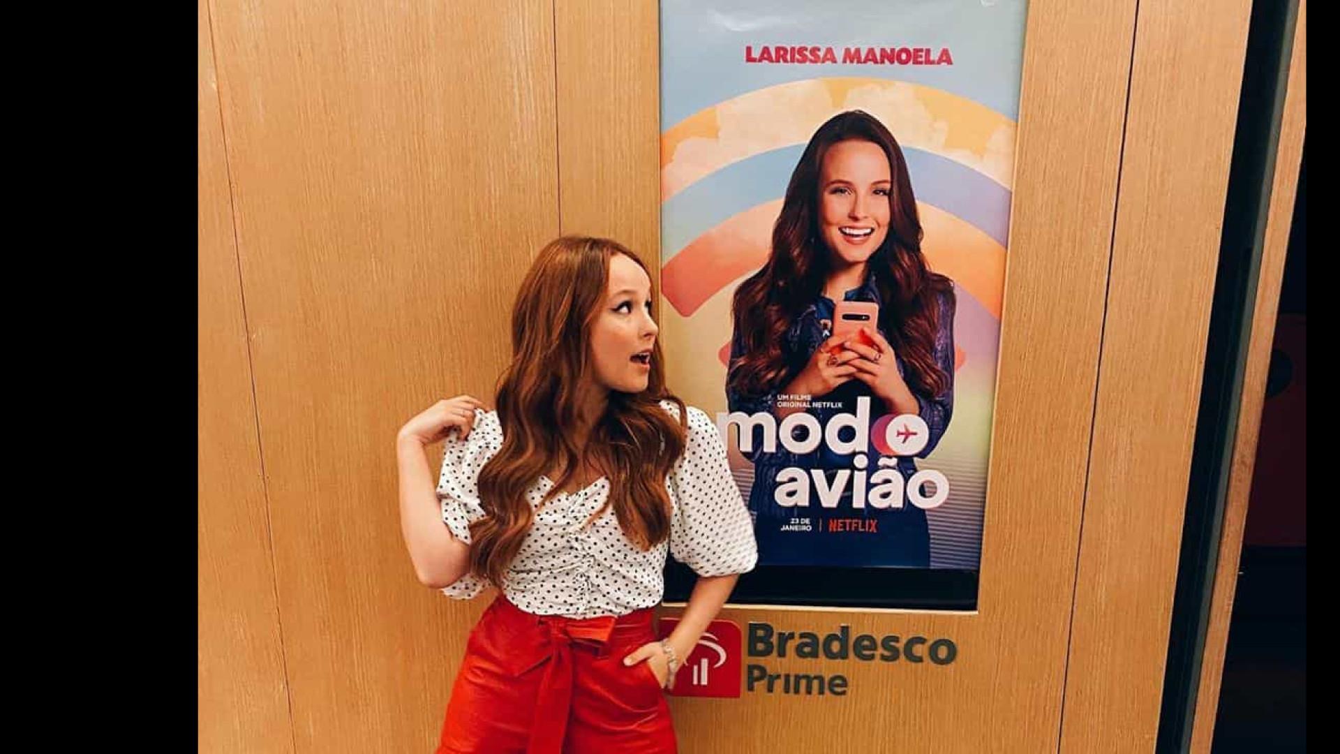 Larissa Manoela é influenciadora digital em novo filme da Netflix