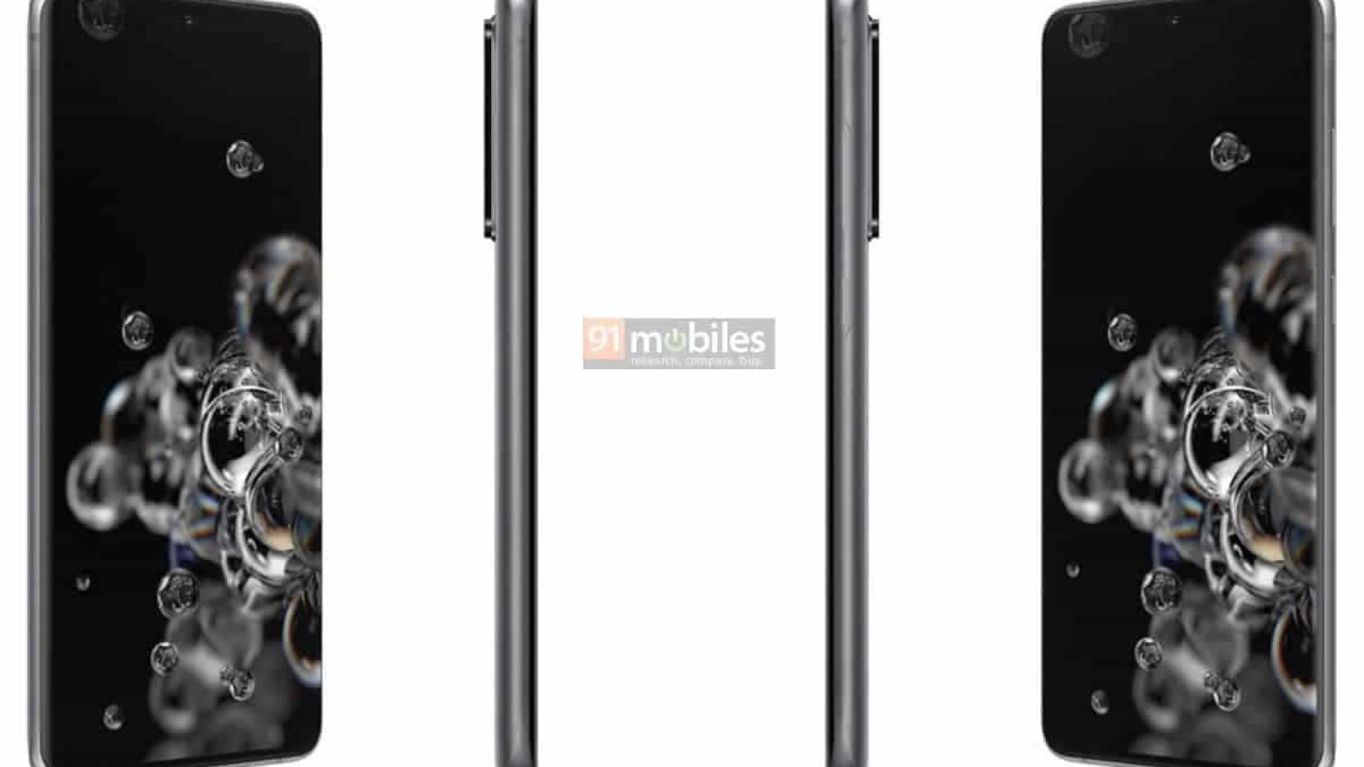 Galaxy S20: Veja as imagens dos novos top de linha da Samsung