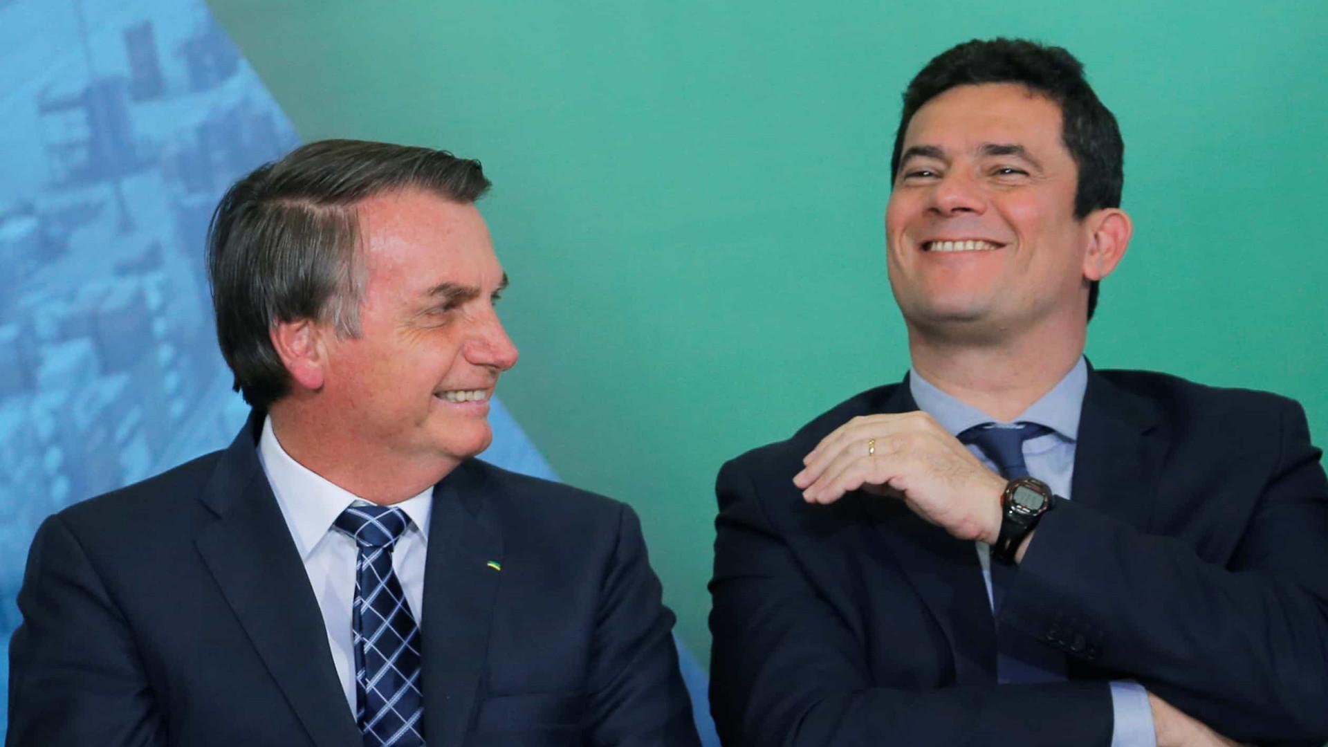 Bolsonaro, Moro e Ciro disputam 'paternidade' de fim do motim no Ceará