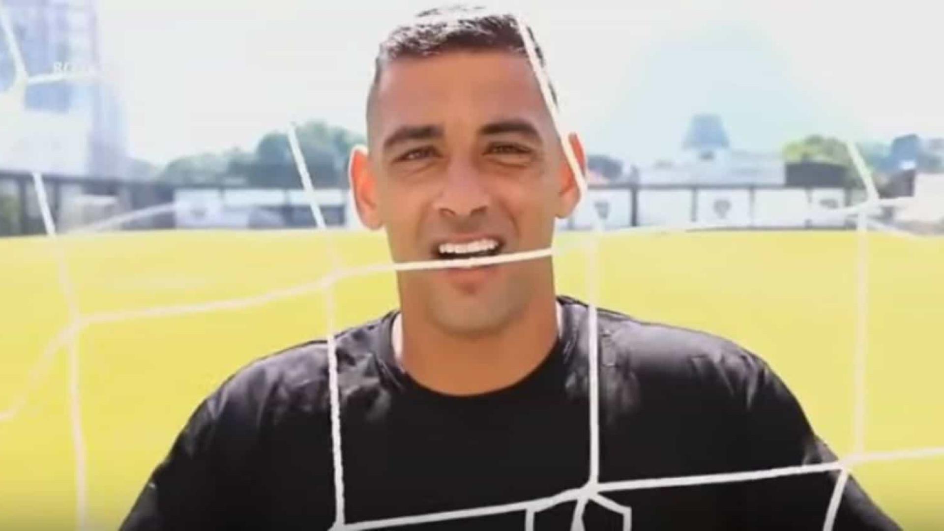 Grêmio anuncia contratação do atacante Diego Souza