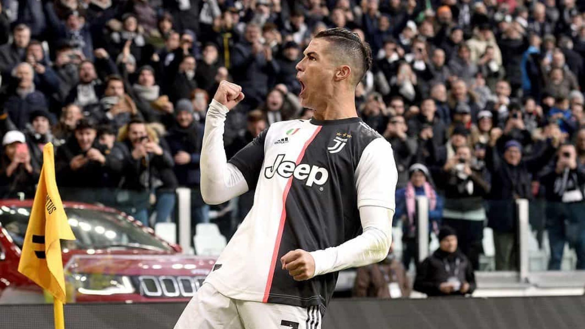 Empresário garante que Cristiano Ronaldo seguirá jogando na Juventus até 2022