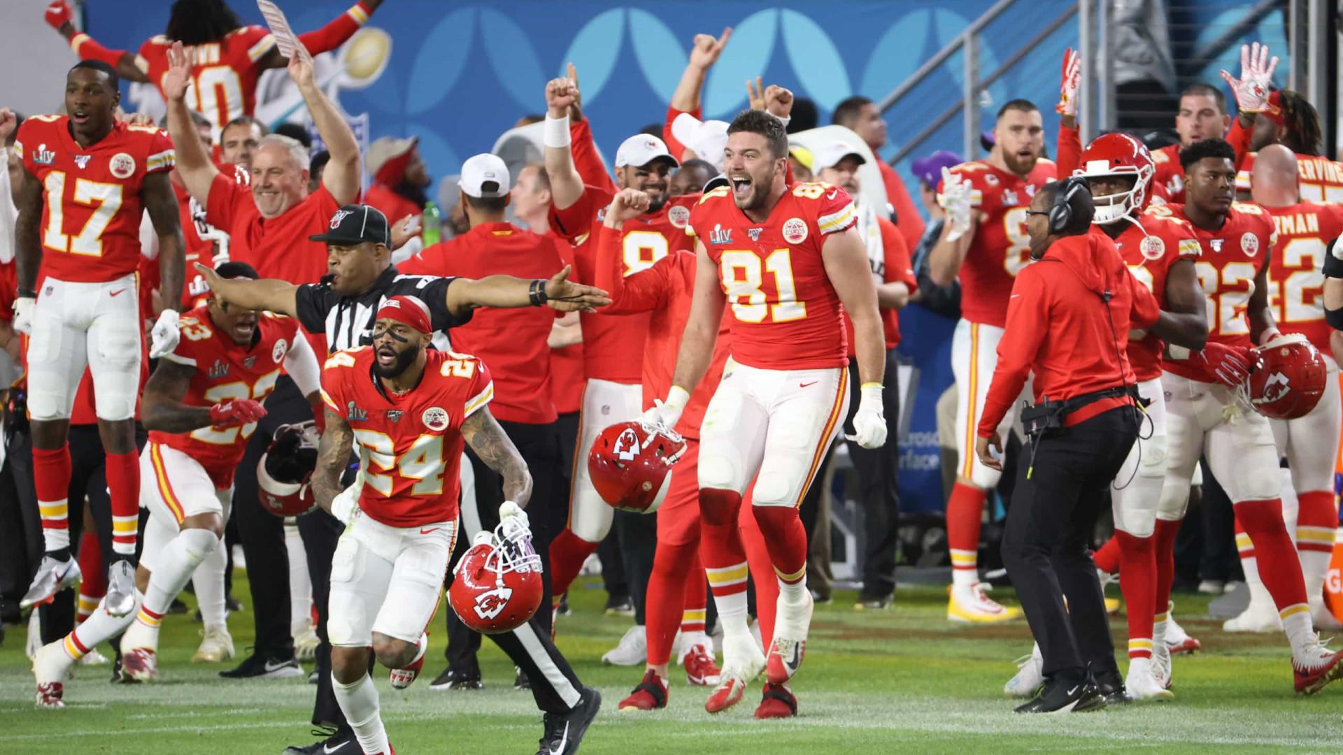 Com genialidade de Mahomes, Kansas City Chiefs conquista o Super Bowl