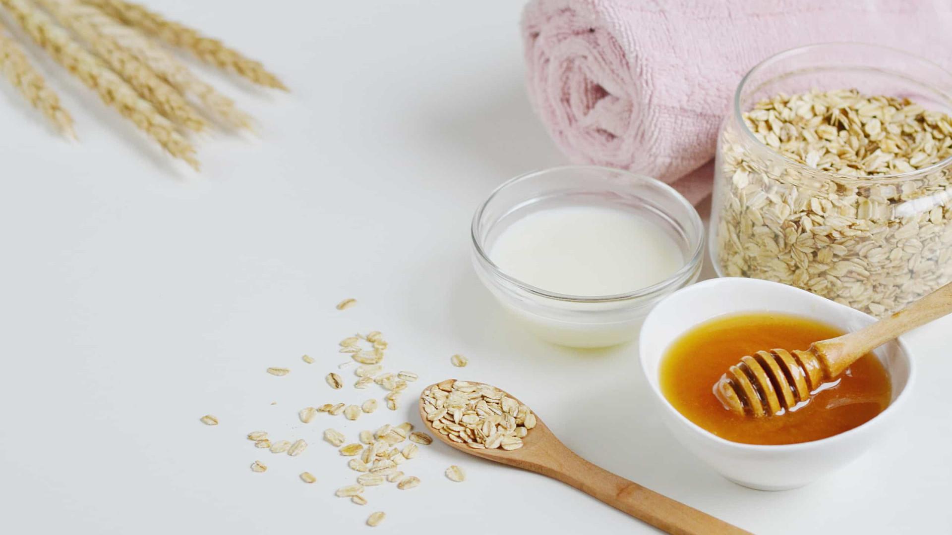 Dermatologista explica como pode utilizar a aveia para limpar o rosto