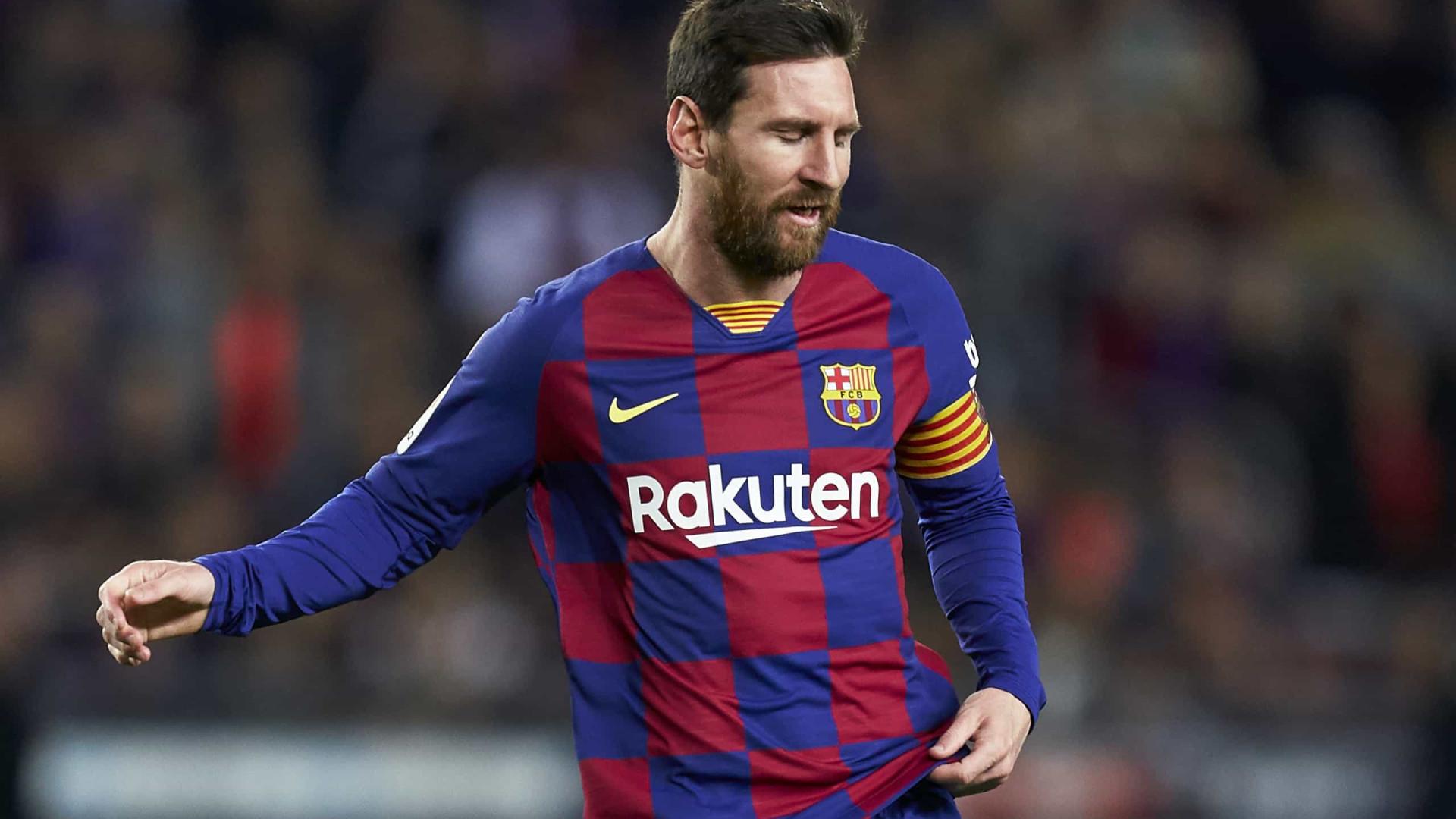 Com brilho de Messi, Barcelona goleia Ferencváros na estreia na Liga dos Campeões