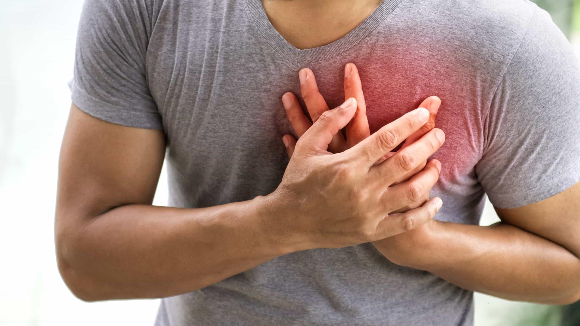 Risco de ataque cardíaco. Três passos para proteger o seu coração
