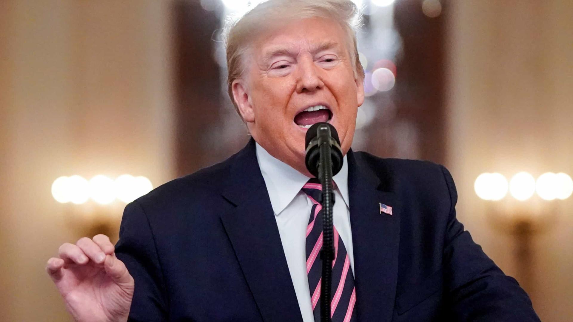 Trump comemora absolvição e chama democratas de 'pessoas horríveis'