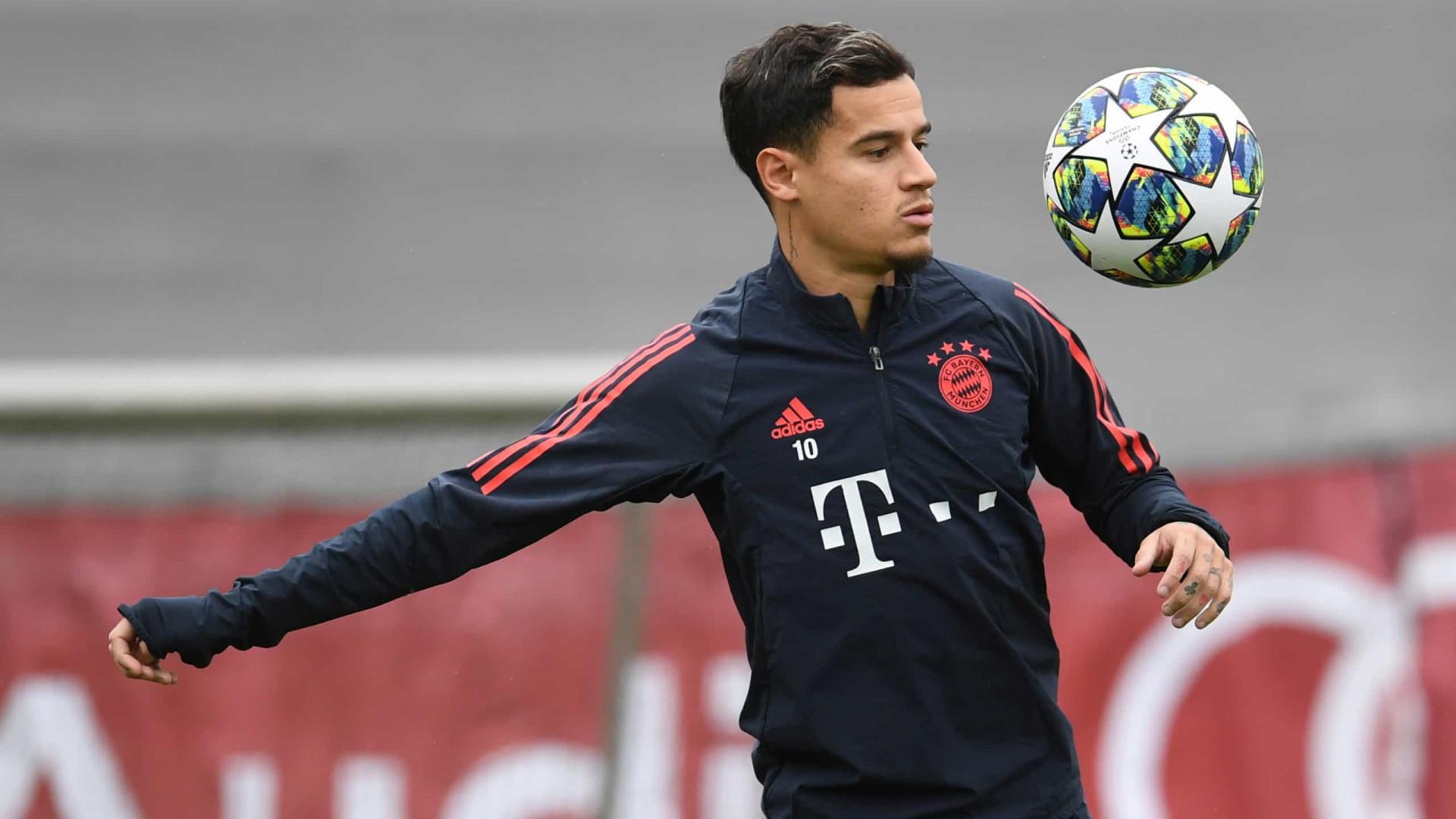 Philippe Coutinho amarga má fase no Bayern e passa ser criticado