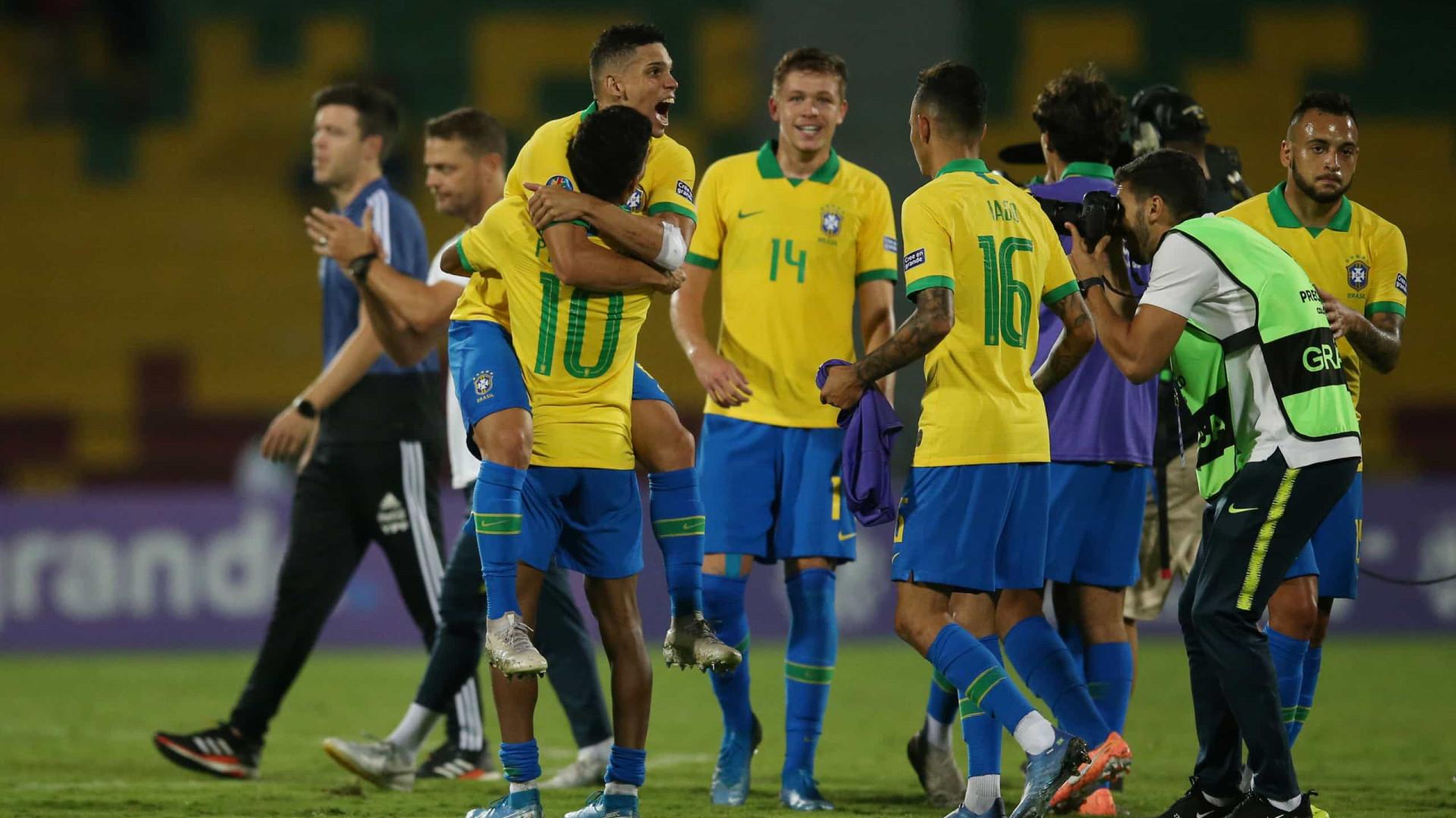 Seleção brasileira domina Argentina e se classifica para a Olimpíada