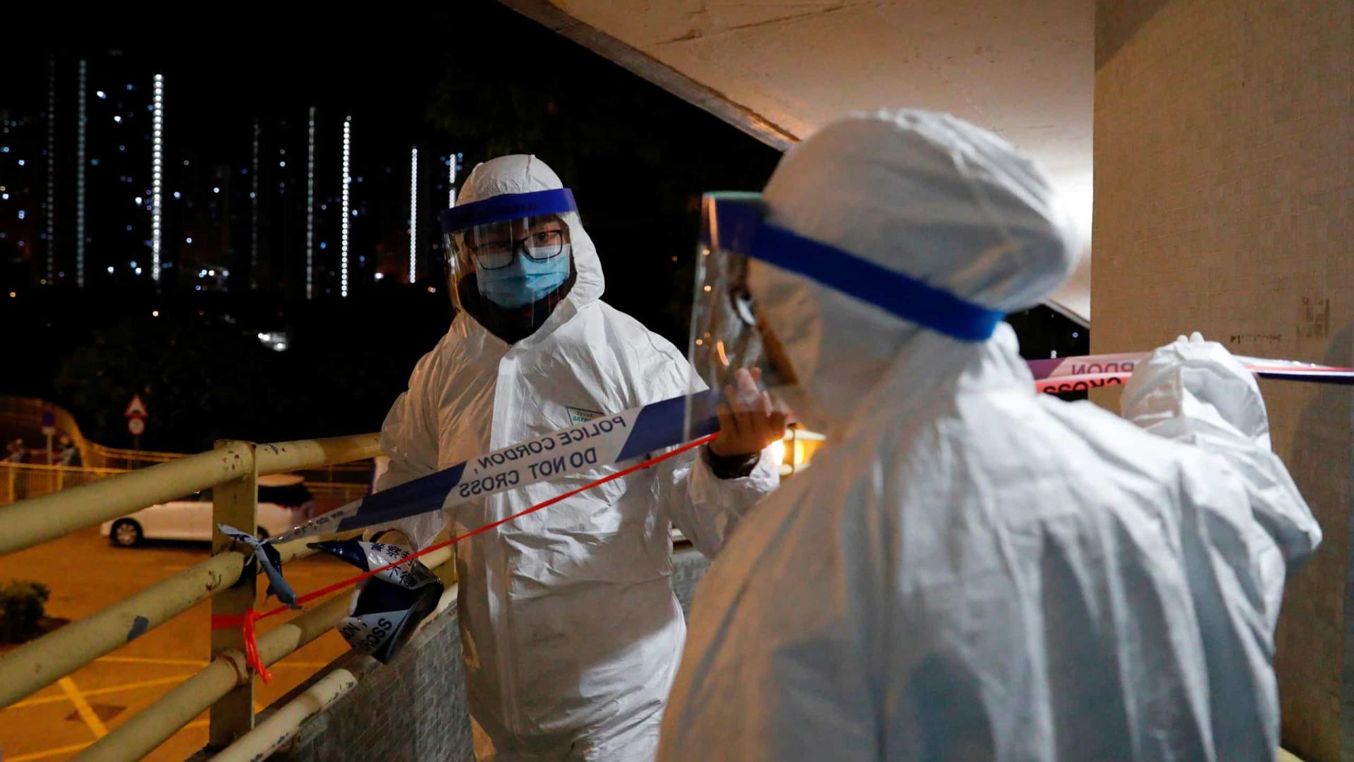 """Coronavírus """"pode sobreviver até nove dias"""" em maçanetas e corrimãos"""