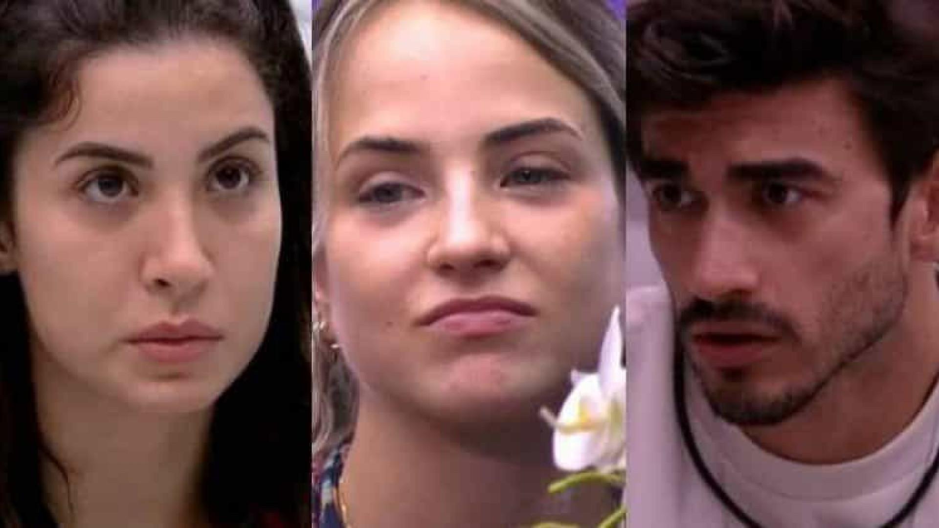 Gabi fica decepcionada ao ver Guilherme indicar Bianca como finalista