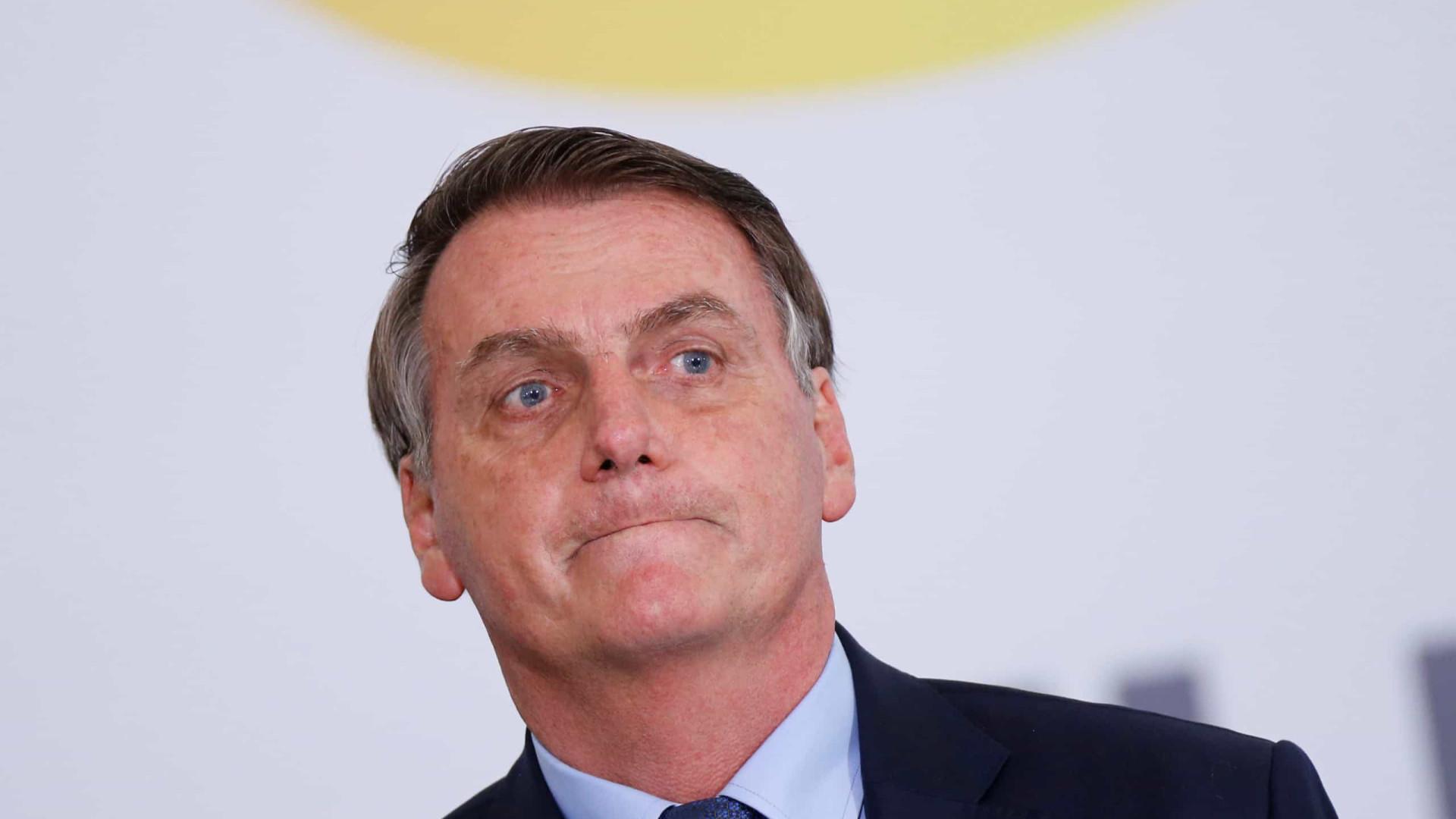 Bolsonaro leva Moro e Damares, para jogo do Flamengo