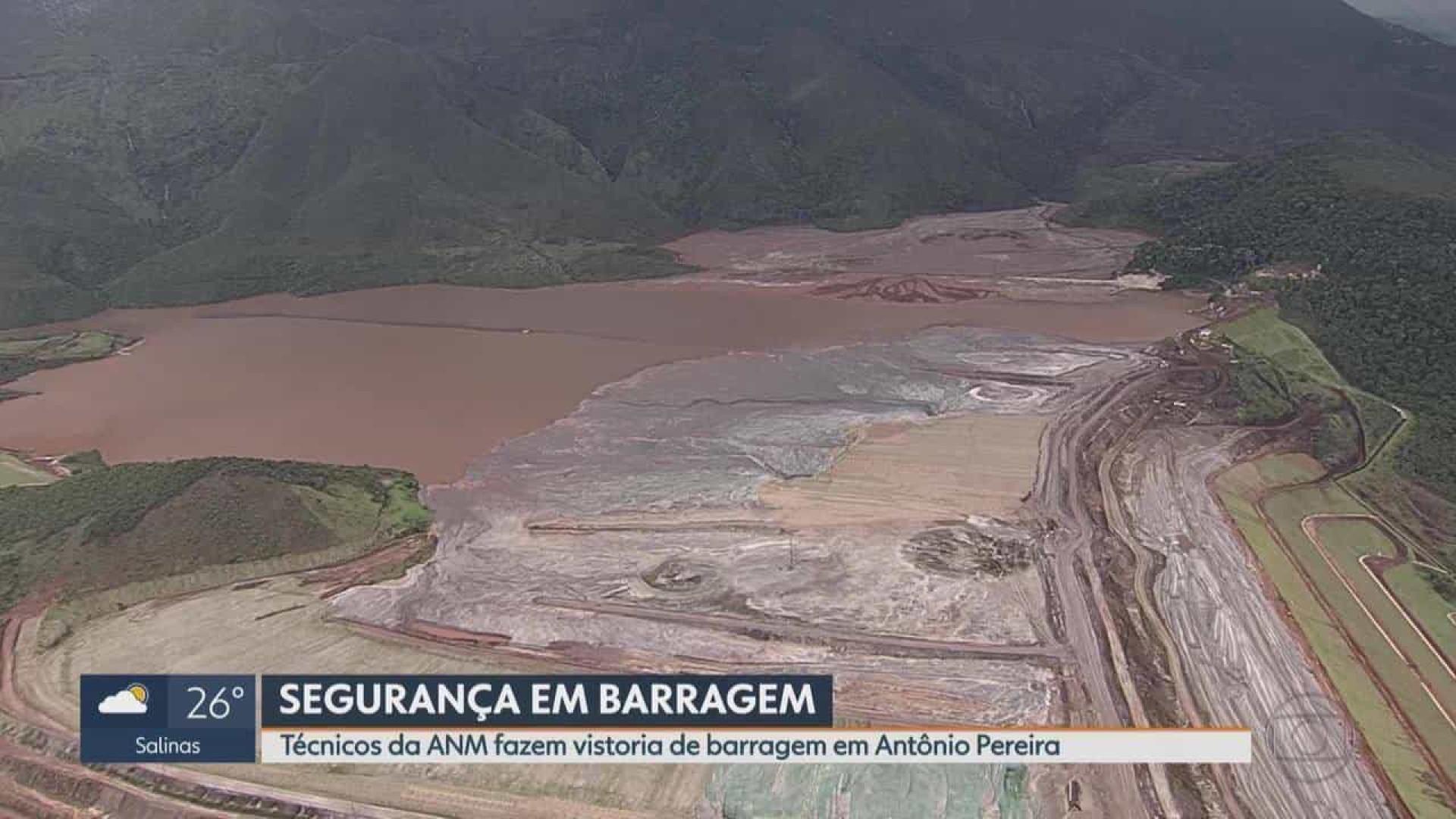 Vale evacua casas próximo a barragem em Ouro Preto