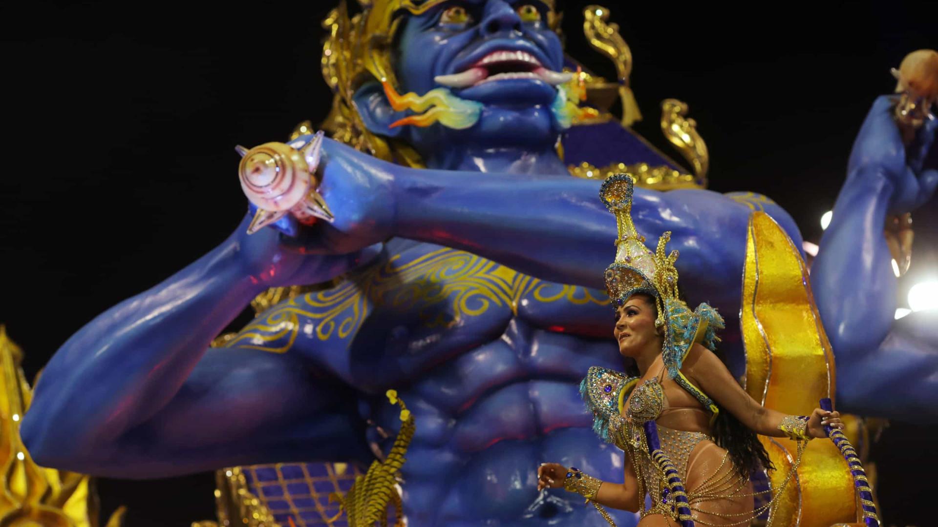 Águia de Ouro vence o Carnaval 2020 de São Paulo