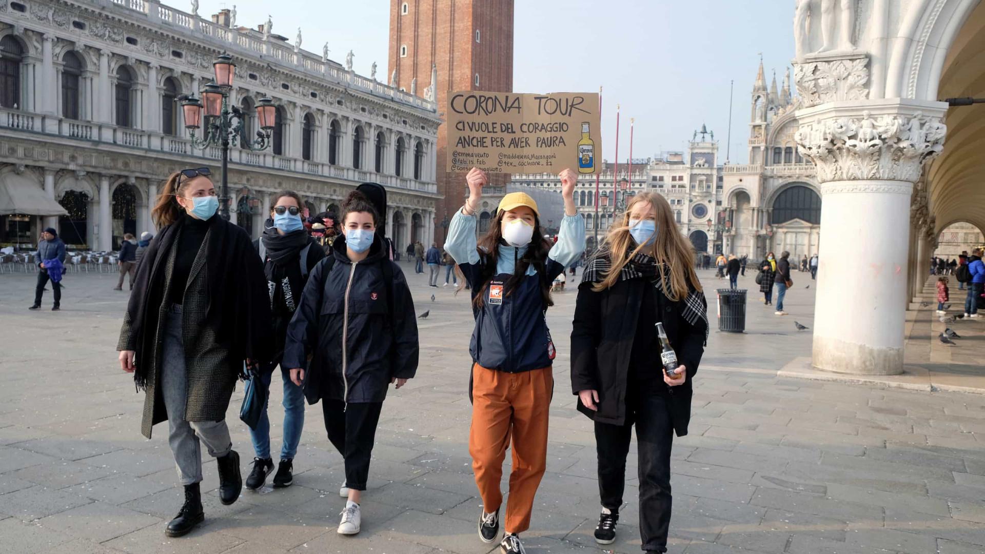 Itália: número de casos sobe para 400; número de mortos segue 12