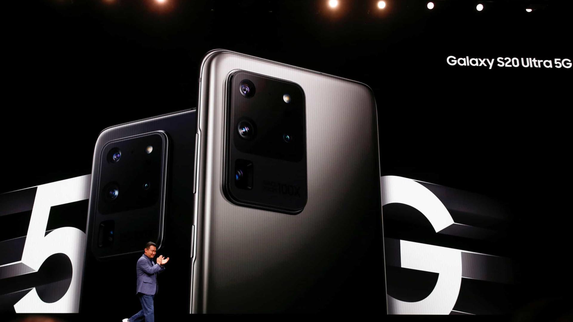 Samsung fala sobre problemas com a câmera do Galaxy S20