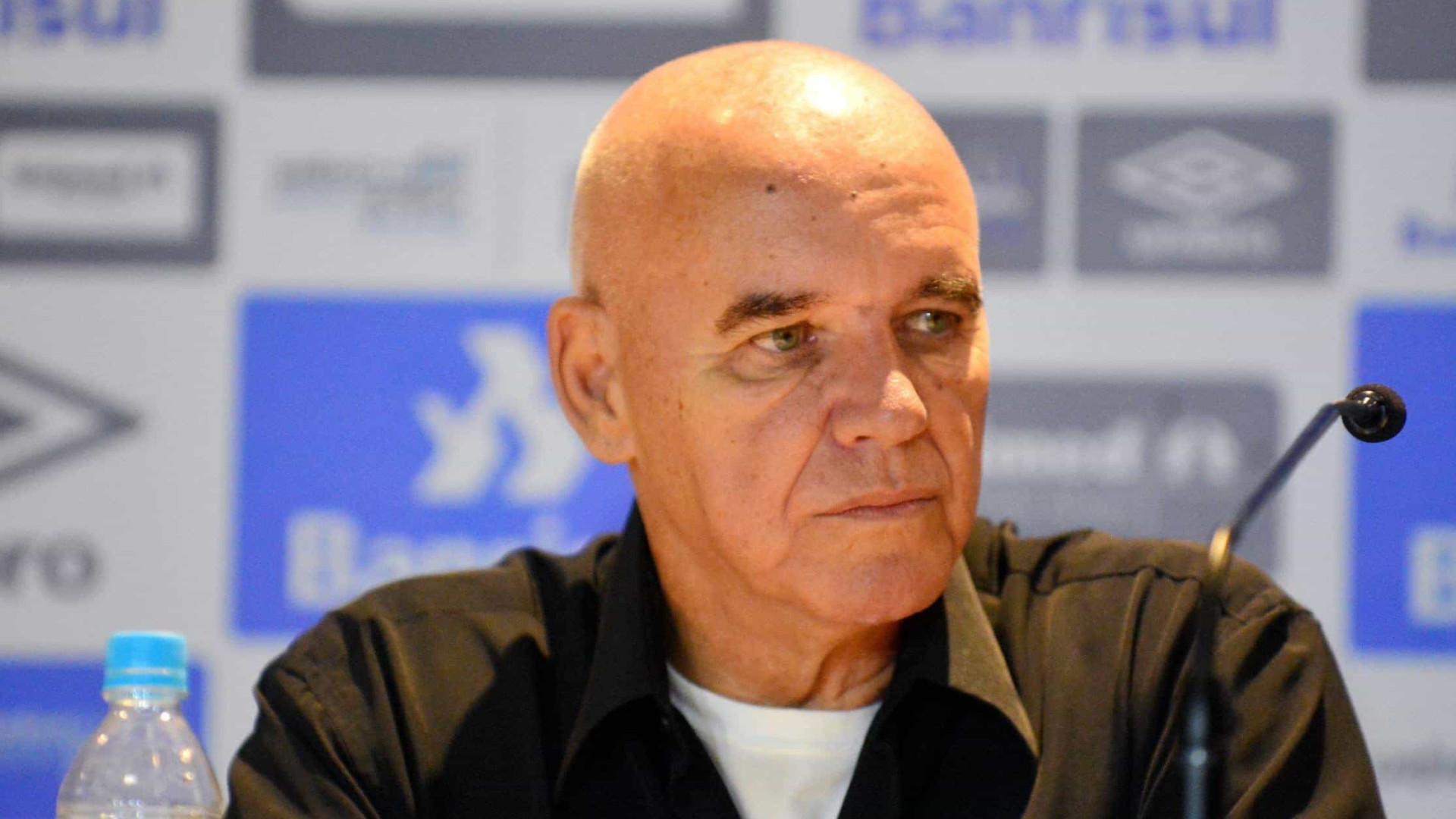 Morre o técnico Valdir Espinosa, campeão do mundo com o Grêmio